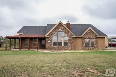 San Angelo TX Single Family Home For Sale: $269,000