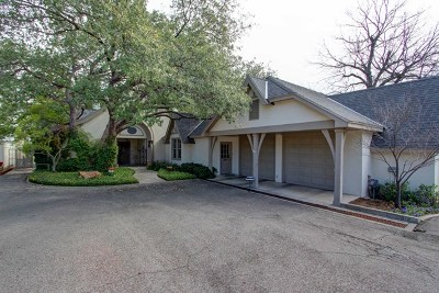 San Angelo Single Family Home For Sale: 222 S Park St