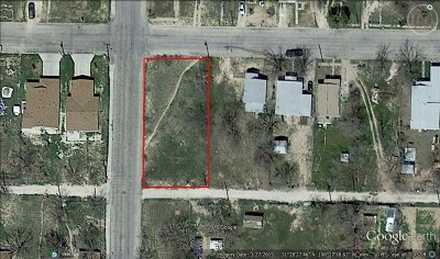 San Angelo Residential Lots & Land For Sale: 18th St