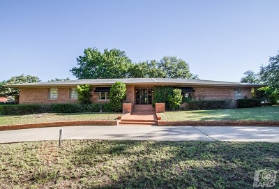 San Angelo Single Family Home For Sale: 2656 Oxford Ave