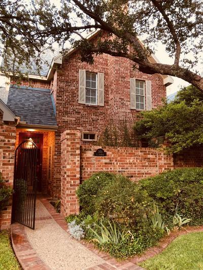 San Angelo Condo/Townhouse For Sale: 304 S Jefferson St