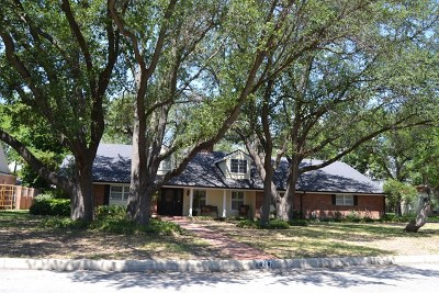 San Angelo Single Family Home For Sale: 1217 S Park St