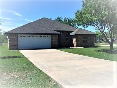 San Angelo TX Single Family Home For Sale: $140,000