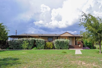 San Angelo Manufactured Home For Sale: 13147 March Rd
