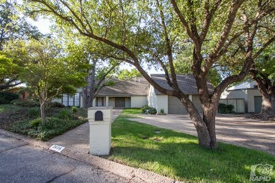 San Angelo Single Family Home For Sale: 2606 Vista Circle