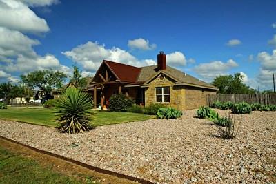 San Angelo Single Family Home For Sale: 7956 Bison Tr