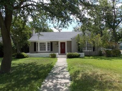 San Angelo Rental For Rent: 1706 Paseo De Vaca St