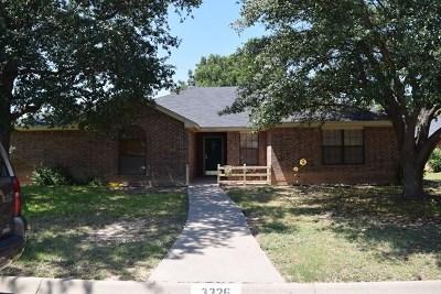San Angelo Rental For Rent: 3326 Maplewood Dr