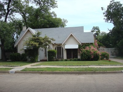 Single Family Home For Sale: 314 S Bishop St