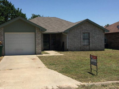 San Angelo Rental For Rent: 1356 Fox Hollow St