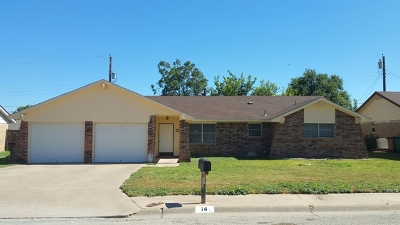 San Angelo TX Rental For Rent: $1,400