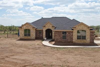 San Angelo Single Family Home For Sale: 3471 Buck Run St