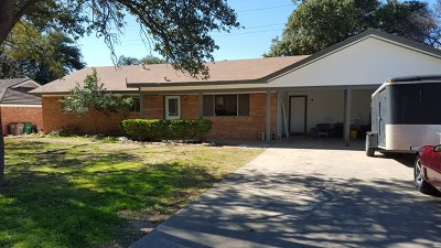 San Angelo Single Family Home For Sale: 1817 St Mary St