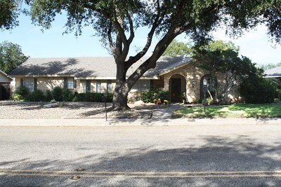 San Angelo Single Family Home For Sale: 2720 Southland Blvd