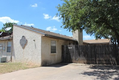 San Angelo TX Rental For Rent: $900