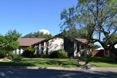 San Angelo Single Family Home For Sale: 2906 Briargrove Lane