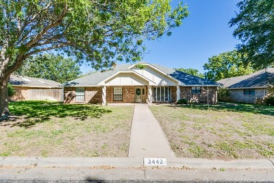 San Angelo Single Family Home For Sale: 3442 Grandview Dr