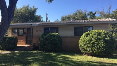 San Angelo Rental For Rent: 1870 W Twohig Ave
