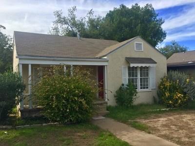San Angelo Single Family Home For Sale: 1309 S David St