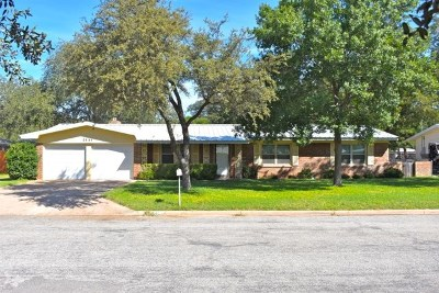 San Angelo Single Family Home For Sale: 2544 University Ave