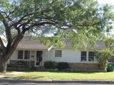 San Angelo Single Family Home For Sale: 1520 S Tyler St