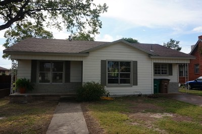San Angelo TX Single Family Home For Sale: $122,900