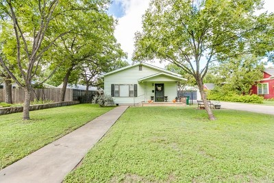 San Angelo Single Family Home For Sale: 1511 Austin St