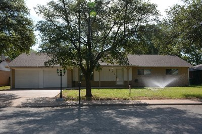 San Angelo Single Family Home For Sale: 220 Westwood Dr