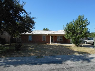 San Angelo TX Rental For Rent: $1,200