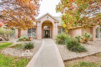 San Angelo Single Family Home For Sale: 5150 Bentgrass Court