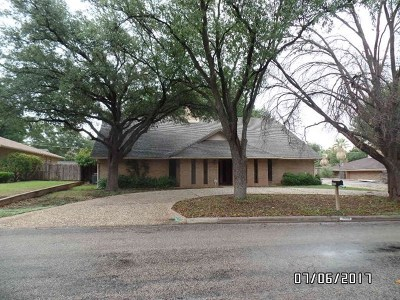 College Hills, College Hills South Single Family Home For Sale: 3608 Sul Ross St