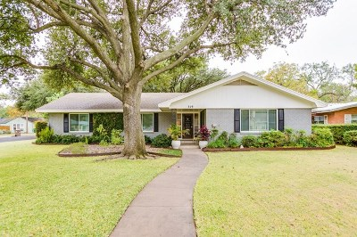 San Angelo Single Family Home For Sale: 319 S Madison St