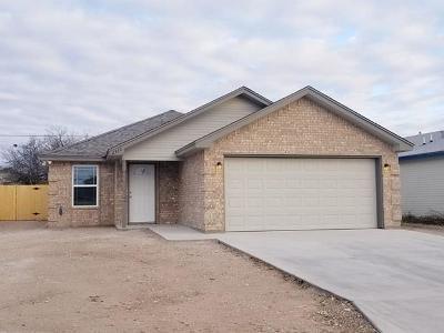San Angelo TX Single Family Home For Sale: $155,000
