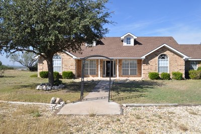 Dove Creek Single Family Home For Sale: 11472 Twin Lakes Lane
