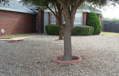 San Angelo Rental For Rent: 1714 Cordell Dr