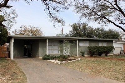 San Angelo Rental For Rent: 2758 Oxford Ave