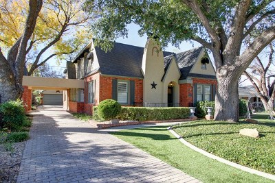 San Angelo Single Family Home For Sale: 1307 S Madison St