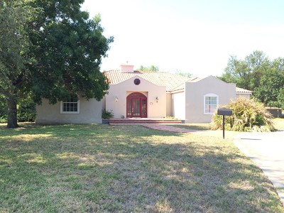 San Angelo Single Family Home For Sale: 1317 Doral Rd