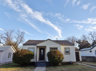 San Angelo TX Single Family Home For Sale: $119,400