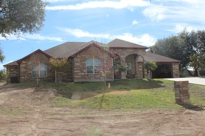 Christoval Single Family Home For Sale: 2461 Venado Dr