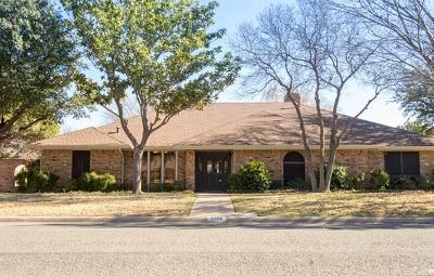 San Angelo Single Family Home For Sale: 5306 Beverly Dr
