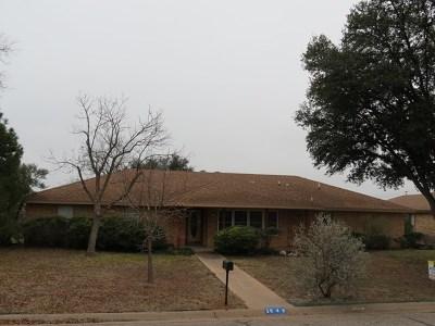 San Angelo TX Single Family Home For Sale: $167,500
