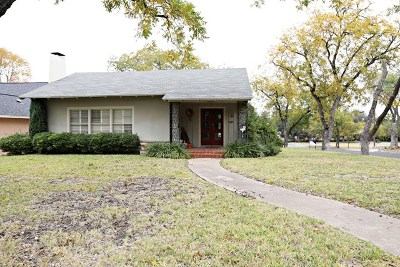 San Angelo Single Family Home For Sale: 424 S Adams St