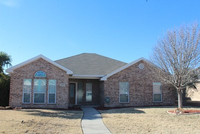 San Angelo Single Family Home For Sale: 3417 School House Dr
