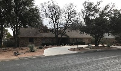 San Angelo Single Family Home For Sale: 5502 Woodbine Lane