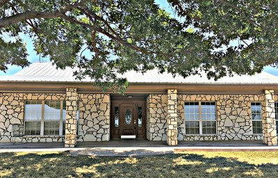 San Angelo Single Family Home For Sale: 11345 Knickerbocker Rd