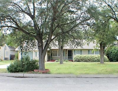 San Angelo Rental For Rent: 1620 Grierson St