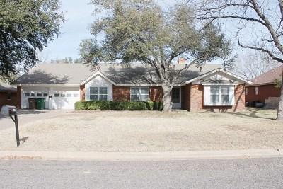 San Angelo Single Family Home For Sale: 2924 Tanglewood Dr