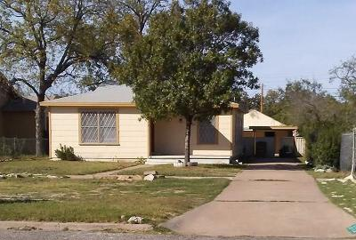 San Angelo Rental For Rent: 1412 Walnut St