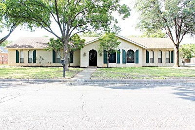 San Angelo Rental For Rent: 3025 Alta Vista Lane